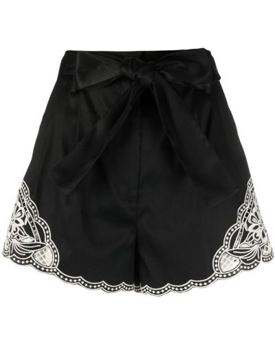 Шорты с карманами - черные Twin-set