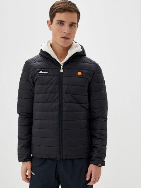 Утепленная куртка осенняя черная Ellesse