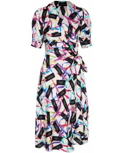 Платье миди с запахом с V-образным вырезом The Marc Jacobs