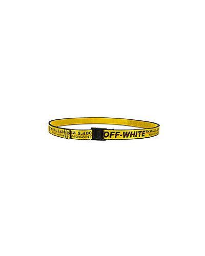Желтый пояс Off-white