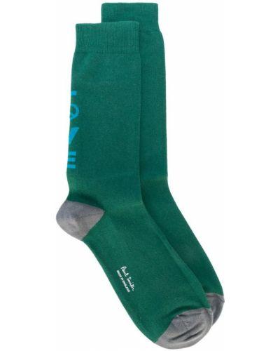 Хлопковые носки в рубчик Paul Smith