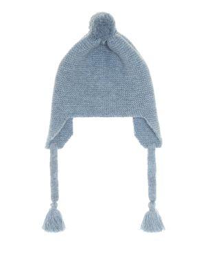 Niebieska czapka wełniana Il Gufo