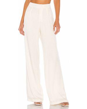 Spodnie z wiskozy - białe Blue Life
