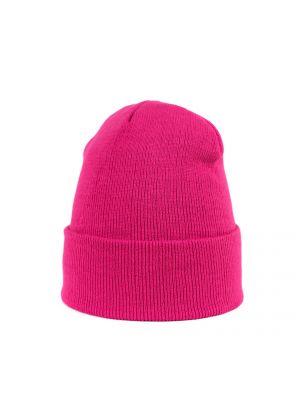 Różowy kapelusz materiałowy Art Of Polo