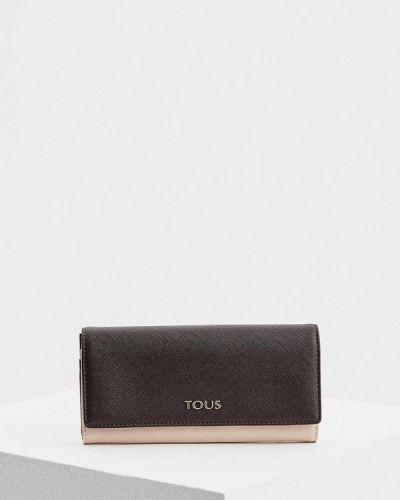 Коричневый кошелек Tous
