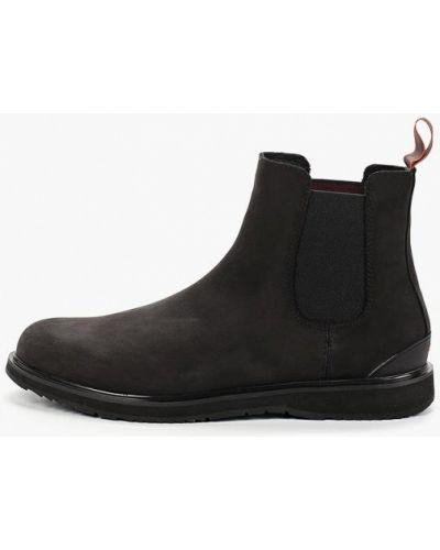 Кожаные ботинки - серые Swims