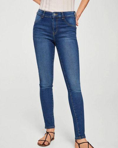 Синие джинсы-скинни Mango