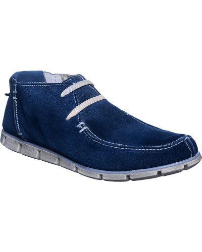 Синие ботинки осенние Nobrand
