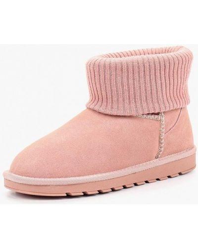 Розовые угги замшевые Stephan