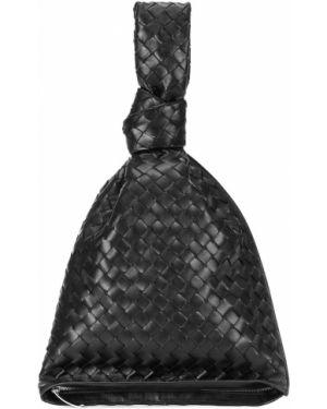 Torba sprzęgło klasyczny czarny Bottega Veneta