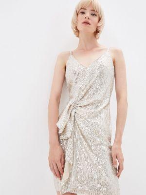 Вечернее платье - серебряное Soky & Soka