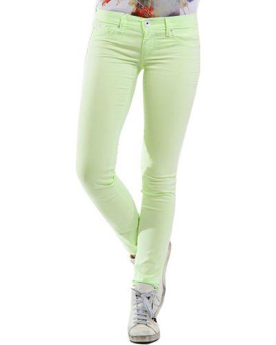 Зеленые джинсы Gas