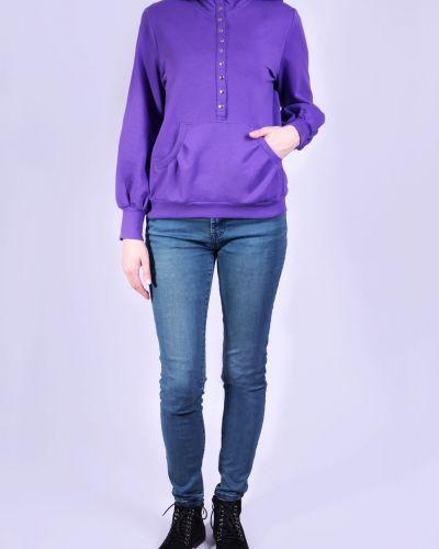 Толстовка толстовка-кенгуру фиолетовый Lacywear