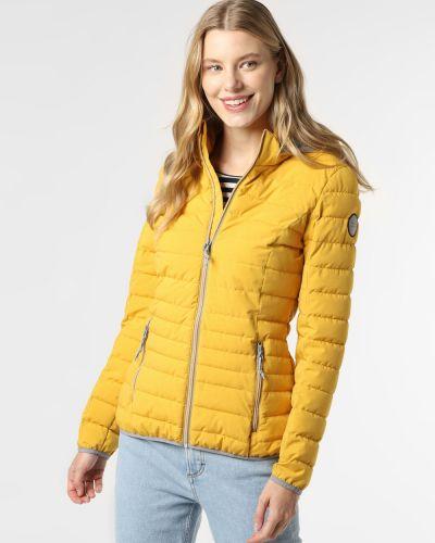 Żółta kurtka pikowana Marie Lund