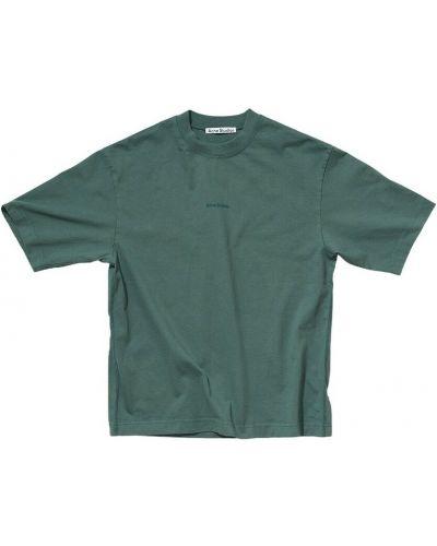 T-shirt - zielona Acne Studios