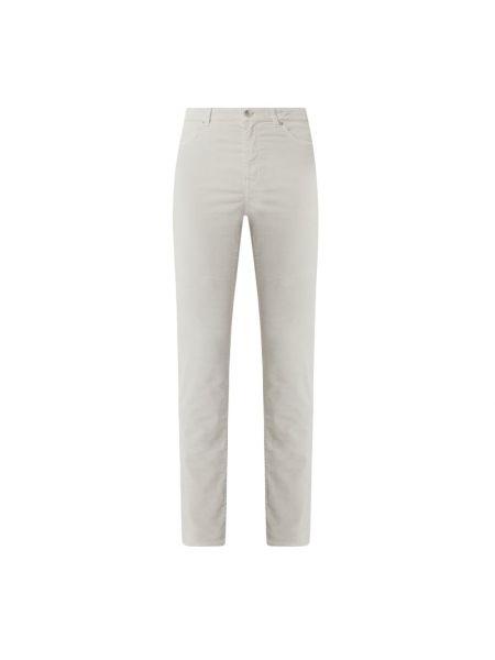 Beżowe spodnie bawełniane Marc Cain