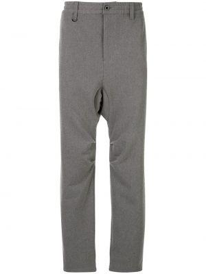 Свободные брюки с поясом с заниженным шаговым швом на пуговицах Makavelic
