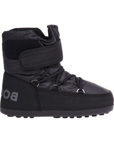 Ботинки осенние черные Bogner