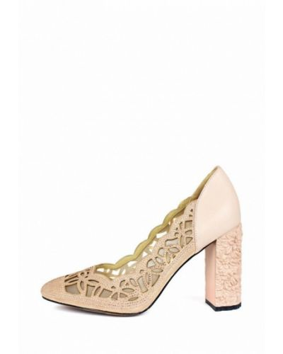 Туфли на каблуке замшевые кожаные Blizzarini