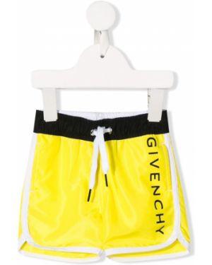 Плавки желтый с принтом Givenchy Kids