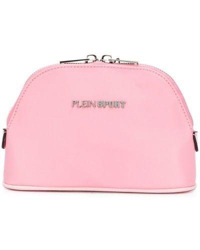 Косметичка на молнии розовый Plein Sport