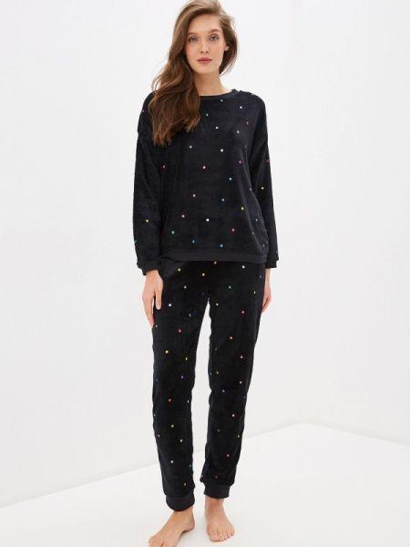 Пижама черная пижамный Ovs