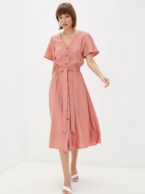 Прямое платье - розовое Gloss