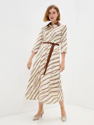Платье рубашка - бежевое Rinascimento