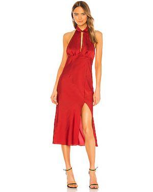 Платье миди с вырезом Finders Keepers