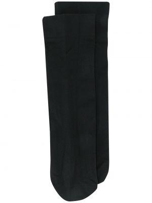 Черные носки эластичные без застежки Wolford