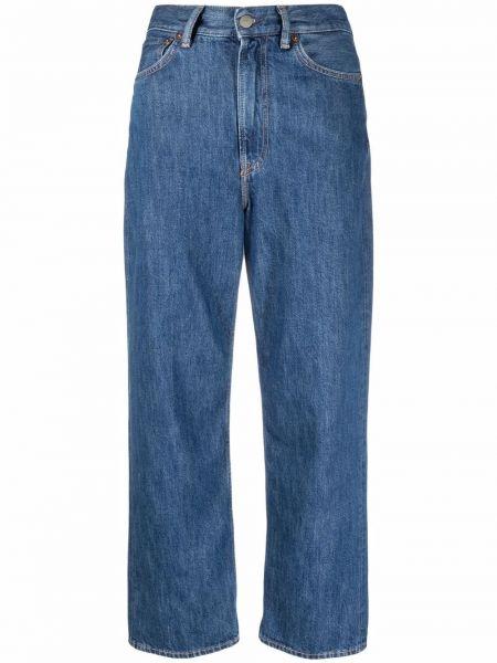 Klasyczne mom jeans - niebieskie Acne Studios