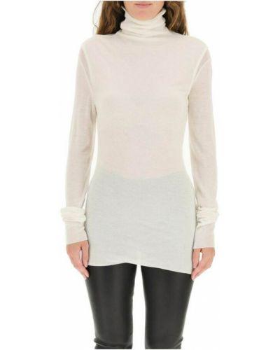Biały z kaszmiru sweter Ann Demeulemeester