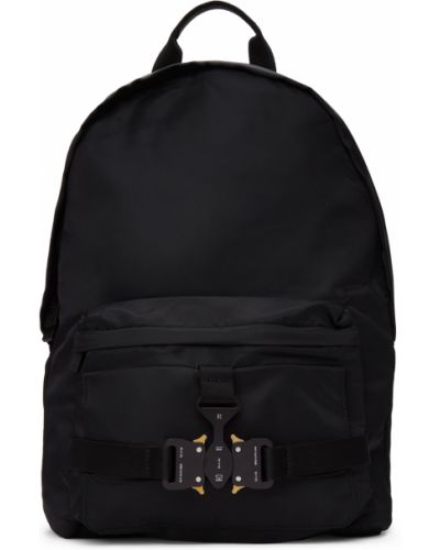 Złoty czarny plecak na laptopa z klamrą 1017 Alyx 9sm