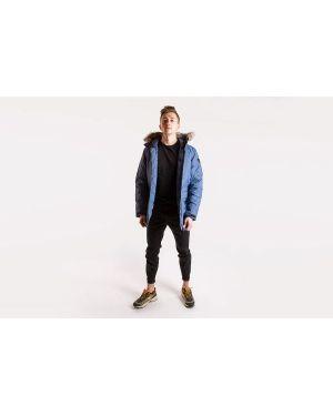 Długa kurtka z nylonu na co dzień z długimi rękawami Adidas
