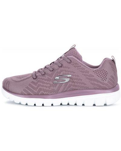 Кроссовки на шнуровке для фитнеса Skechers