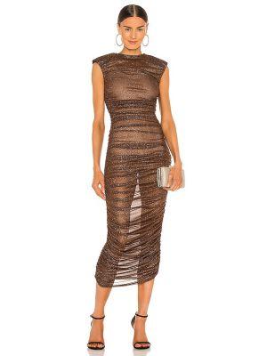 Пляжное коричневое платье с подкладкой Bronx And Banco