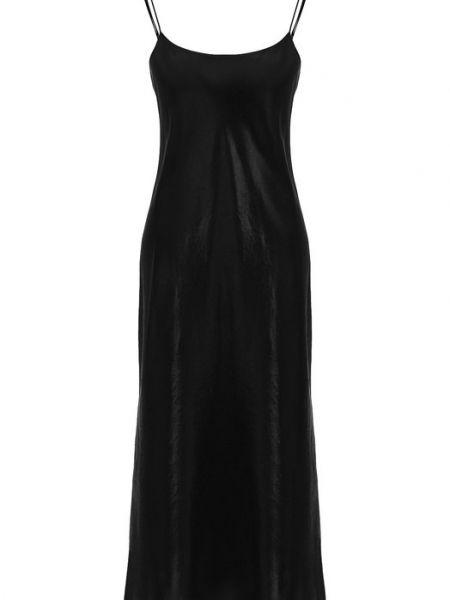 Платье - черное Vince.
