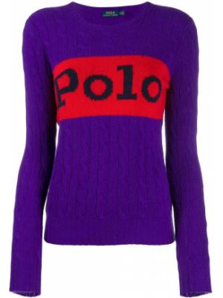 Polo - fioletowa Polo Ralph Lauren