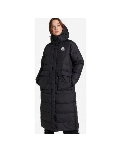 Утепленная куртка - черная Kappa