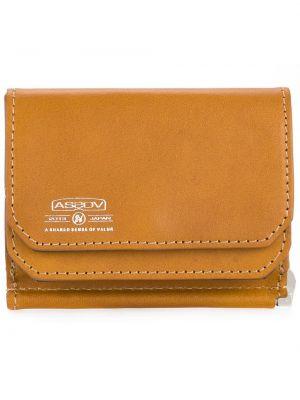 Коричневый кожаный кошелек As2ov