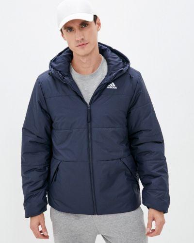 Синяя демисезонная куртка Adidas