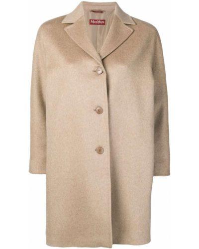 Длинное пальто - бежевое Max Mara Studio