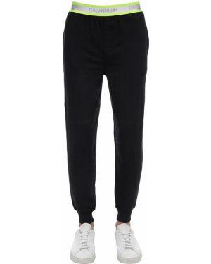 Czarne joggery bawełniane Calvin Klein Underwear
