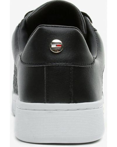 Черные кроссовки Tommy Hilfiger