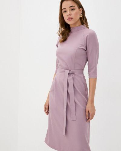 Прямое розовое платье Mari Vera