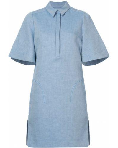 Платье мини оверсайз солнце прямое Carven
