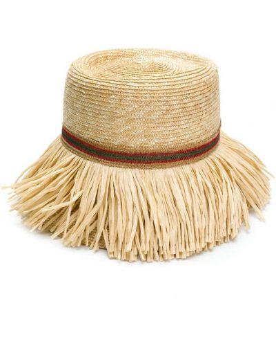 Бежевая шапка Ermanno Scervino