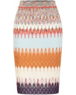 Плиссированная юбка мини Missoni