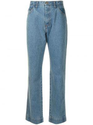 Синие джинсы на молнии Rejina Pyo