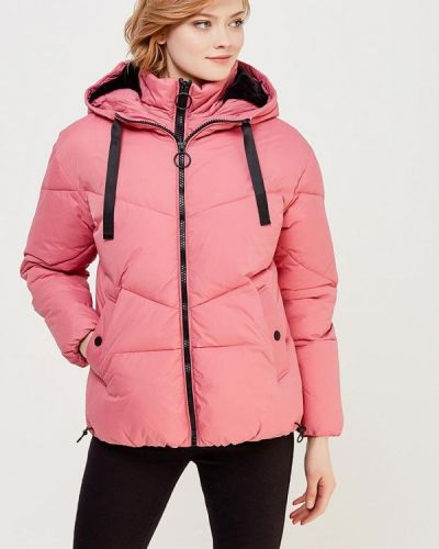 Розовая утепленная куртка River Island